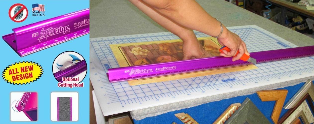 סרגל הבטיחות הטוב בעול לשמירת האצבעות וחיתוך מדויק