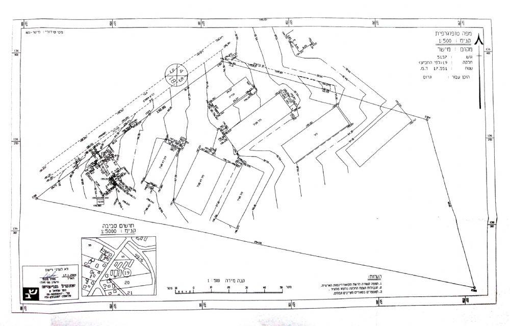 לחץ להגדלת המפה - משק בכפר מישר