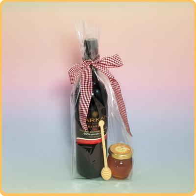 יין ודבש בצלופן
