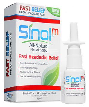 סינול טיפול טבעי לכאבי ראש ומיגרנות