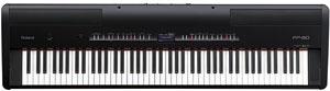 פסנתר דיגיטלי FP-80 צבע שחור או לבן ROLAND