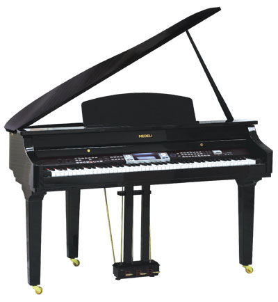 MEDELI GRAND500 פסנתר חשמלי נייח - לבן/שחור