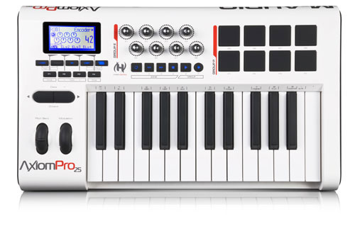 M-Audio Axiom Pro 25 מקלדת שליטה