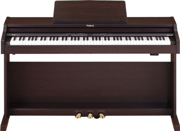 ROLAND RP-301R פסנתר חשמלי / לבן / שחור / חום כולל מקצבים