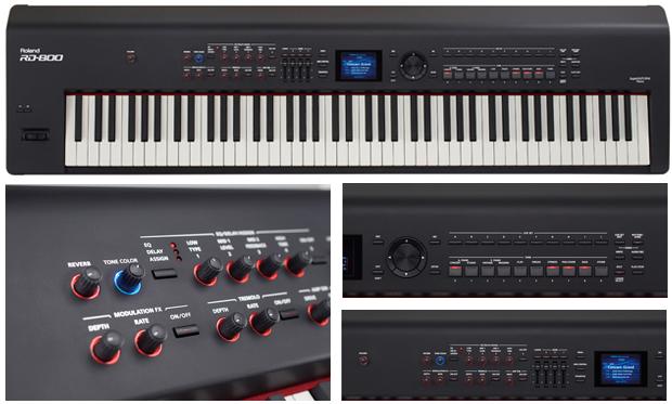 פסנתר חשמלי נייד ROLAND RD-800 - חדש - מחיר סייל