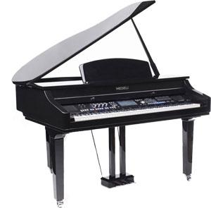 MEDELI GRAND 1000 פסנתר חשמלי נייח חדש - לבן / שחור