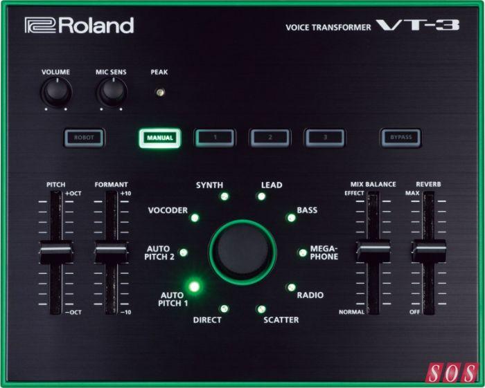 ROLAND VT-3 אפקט ווקאלי