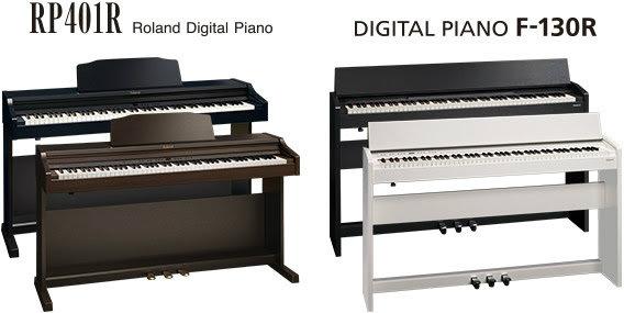 פסנתר חשמלי ROLAND RP-401R שחור / חום