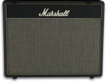 ארגז רמקולים /בוקסה MARSHALL C110 צבעים : שחור/לבן/שמנת