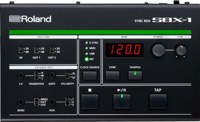 ROLAND SBX-1 קופסת סינכרון