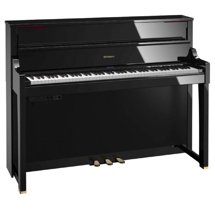 פסנתר חשמלי נייח ROLAND LX17-PE BLACK