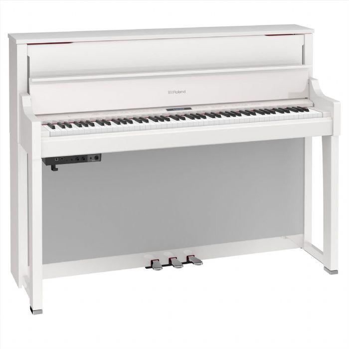פסנתר חשמלי נייח ROLAND LX17-PW WHITE