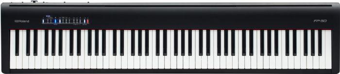 פסנתר דיגיטלי FP-30 צבע שחור ROLAND
