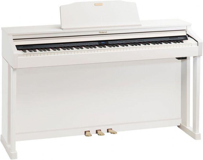 פסנתר חשמלי נייח ROLAND HP504 WH - מחיר סייל