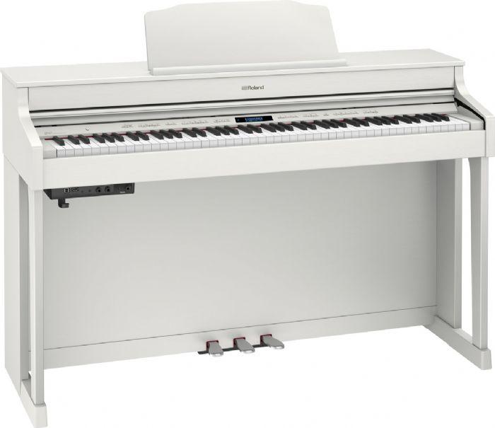 פסנתר חשמלי נייח ROLAND HP603-WHL + סטנד KSC80WH