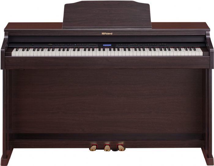 פסנתר חשמלי ROLAND HP601 שחור/חום/לבן