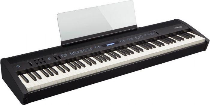 פסנתר דיגיטלי FP-60 צבע לבן/שחור  ROLAND