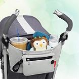 תיק נישא לעגלת תינוק.