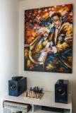 ציור שמן על קנבס - אודיו זיפ - נס ציונה