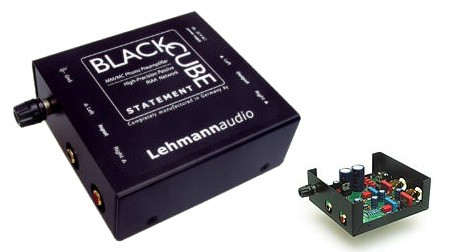קדם מגבר לפטיפון Lehmann Audio דגם Black Cube Statement