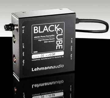 קדם מגבר לפטיפון Lehmann Audio דגם Black Cube