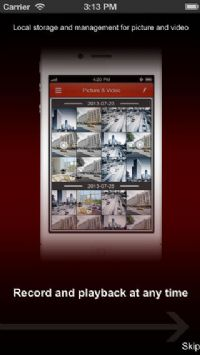 אפליקציה לצפייה מרחוק במערכת DVR של HIKVISION