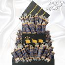 מזכרות לבר מצווה-100 סוכריות ספר תורה ממותגות ותפילין גדול