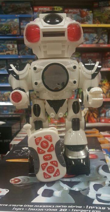 רובוט עם שלט אינפרא אדום