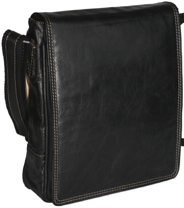 תיק כתף לטאבלט עור בפאלו דגם 873 שחור