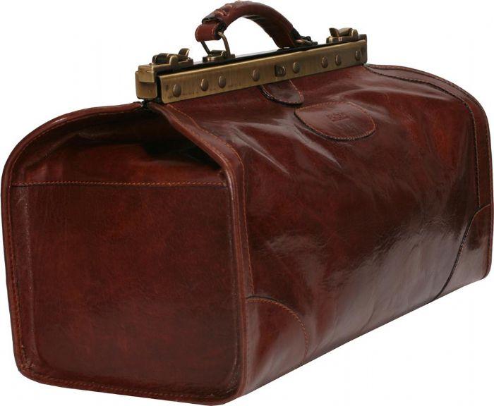 תיק נסיעות וינטאג' עור ברידג דגם 32