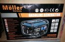 גנרטור בנזין moller  3500W חד פאזי דגם MR/GGT3003EIM הנעה חשמלית