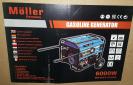 גנרטור בנזין 6000W moller חד פאזי דגם MR/GGT-650E במבצע!!!