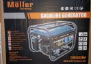 גנרטור בנזין moller 3500W חד פאזי במבצע!