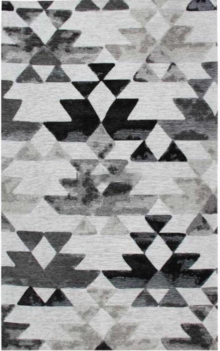 שטיח סלון אצטקי שחור