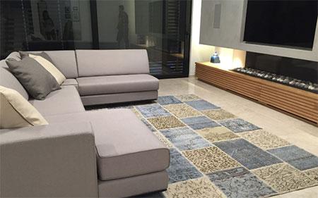 שטיחי טלאים וינטאג עבודת יד