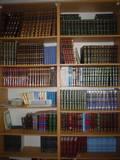 ספרי קודש ולימוד,הלכה מוסר אגדה משנה וגמרה, זוהר וקבלה - תודה לתורמים.