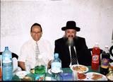 """האורחים הנכבדים,רב העיר הרב אליהו מלכא שליט""""א וראש העיר מר עדי אלדר, שעשה רבות להקמת בית הכנסת אור-הרש""""ש. - הי""""ו"""