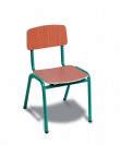 כסא גן רגל מתכת