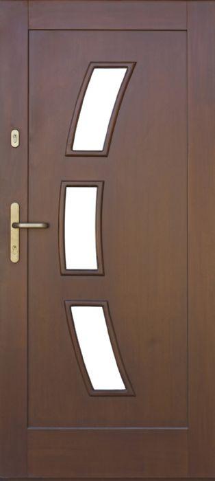 דלת כניסה 3 חלונות