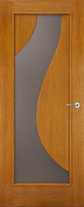 דלת כניסה סילבר עץ