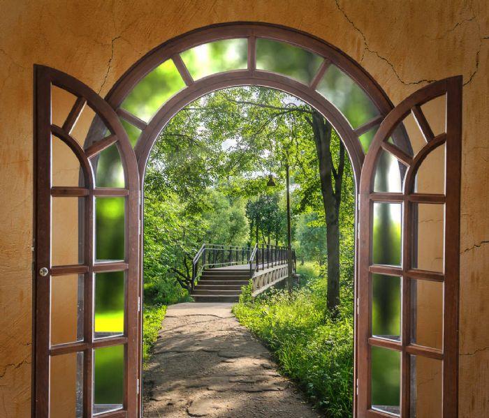 חלון לגינה