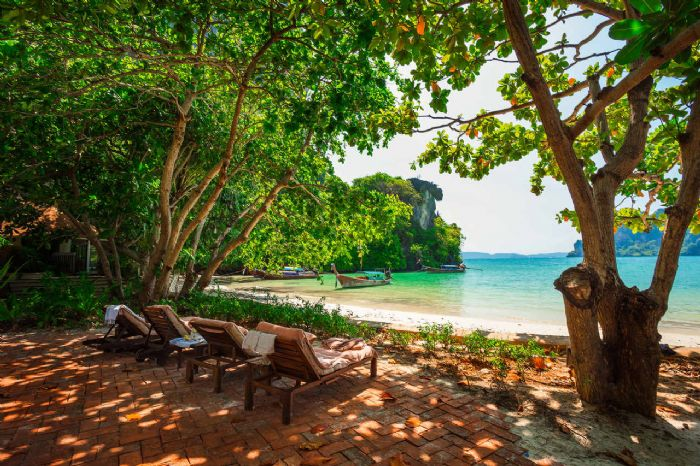 טפט חוף בתאילנד