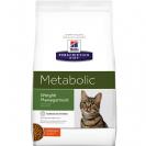 """מזון רפואי לחתולים הילס מטבוליק 4 ק""""ג"""