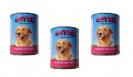 שימורי אסטור לכלב בשר עם לבבות 400 גר - 3 יח' ב12