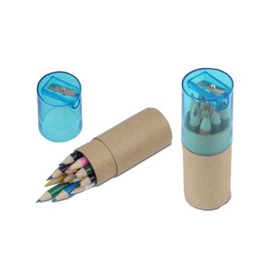 B1147- סט עפרונות בגליל קרטון