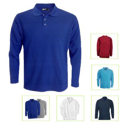BA2009 - חולצת פולו שרוול ארוך