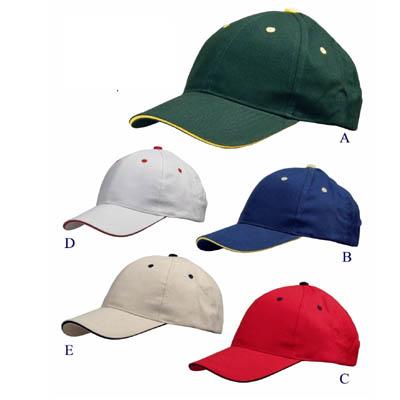 BC1202 - כובע 6 פנלים מעוצב