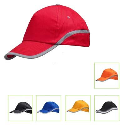 BC1203 - כובע ספורט 5 פנלים