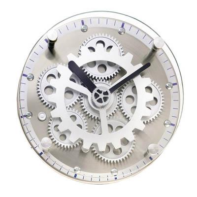 BZ1572 שעון שולחני גלגלי שיניים