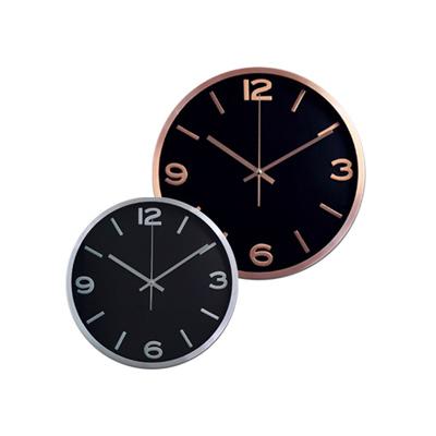 """BZ1453 - """"מידנייט"""" שעון קיר"""